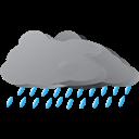 Raining, Weather Icon