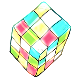 Cartoon, Rubik Icon