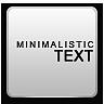 Donate, Minimalistic, Text Icon