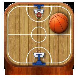 Basketball, Wooden Icon