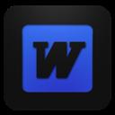 Blueberry, Word Icon