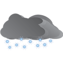Snowing, Weather Icon