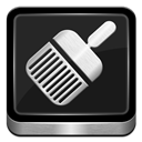 Cleaner, Metallic Icon