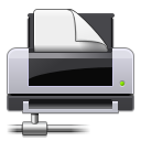 Dev, Gnome, Network, Printer Icon