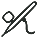 Airbrush, Outline Icon