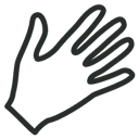 Hand, Outline Icon