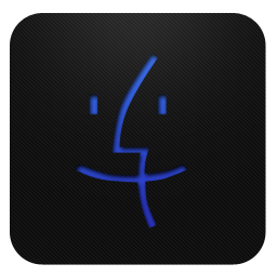 Blueberry, Mac Icon