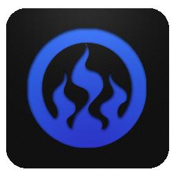 Blueberry, Nero Icon