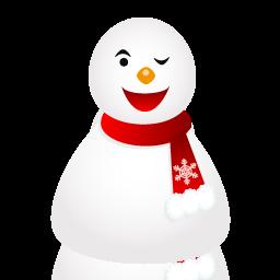 Snowman, Wink Icon