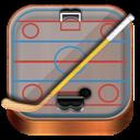 Hockey, Wooden Icon