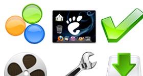 Human O2 Emblems Icons