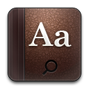 Dictionary, Rounded Icon