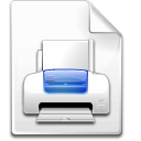 Mime, Postscript Icon