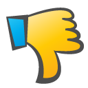 Childish, Down, Thumb Icon