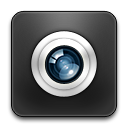 Camera, Rounded Icon