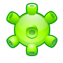Detected, Virus Icon