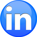 Linkedin, Sphere Icon