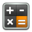 Calculator, Rounded Icon