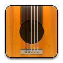 Guitar, Rounded Icon