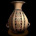 Bottle, Diaguita Icon
