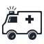 Ambulance, Car Icon