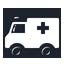 Ambulance, Car Icon