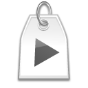 Label, Play Icon