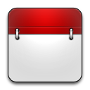 Calendar, Empaty, Rounded Icon