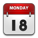 Calendar, Rounded Icon