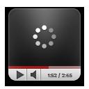 Rounded, Youtube Icon