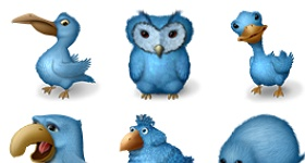 Ugly Birds Icons