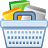 Basket, Ecommerce, Full, Shopping Icon
