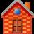 Brick, House Icon