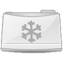 Folder, Snowish Icon