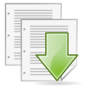 As, Document, Save Icon