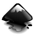 Inkscape, Mountain Icon