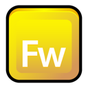 Adobe, Cs3, Fireworks Icon