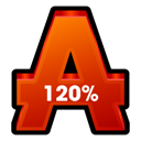120%, Alcohol Icon