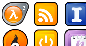 Sleek XP Software Icons