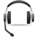 Headset, Support, Voice Icon