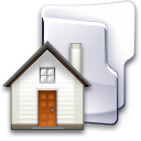 Folder, Home, House Icon