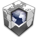 Blocks, Earth, Hosting, Network, World Icon