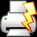 File, Power, Print, Quick Icon