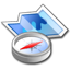Browse, Compass, Map, Navigate, Navigator Icon