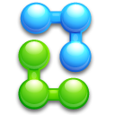 Atom, Ball, Balls, Bend, Join, Joint, Kfouleggs Icon