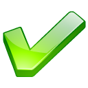 Accept, Check, Checkmark, Good, Green, Mark, Ok, Yes Icon