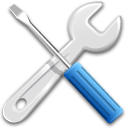 Preferences, Settings, Tools Icon