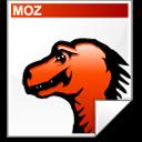 Document, Mozilla Icon