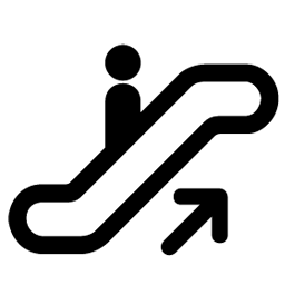 Escalator, Up Icon