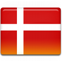 Danish, Denmark, Flag Icon